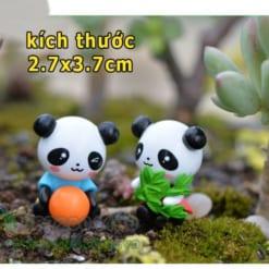 Gấu Trúc Panda phụ kiện tiểu cảnh