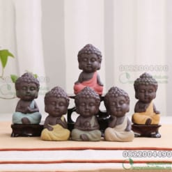 Tượng Phật Gốm Cát Tím