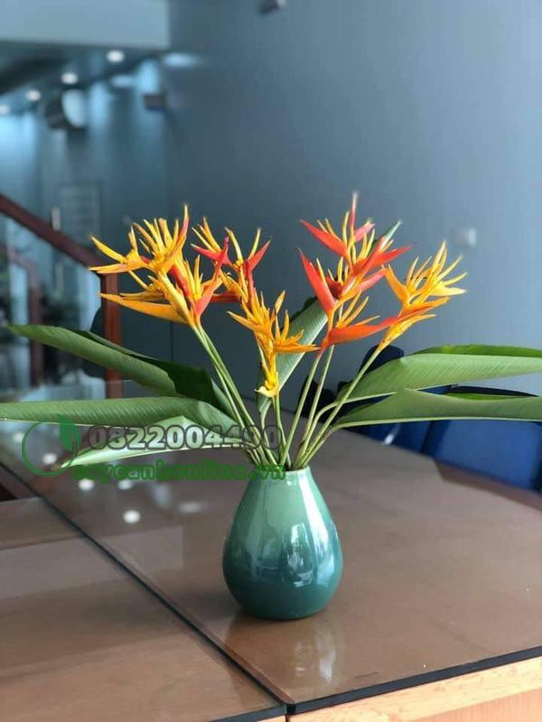 Hoa chuối mỏ két