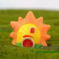 Mô hình ngôi nhà mặt trời trang trí tiểu cảnh