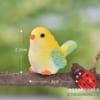 Chim trang trí terrarium