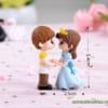 Tượng hoàng tử và công chúa mini