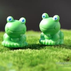 Con ếch xanh mini trang trí tiểu cảnh