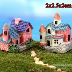 Mô hình lâu đài trang trí tiểu cảnh