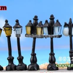Cột đèn giả trang trí tiểu cảnh sân vườn