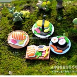 Mô hình cơm sushi trang trí