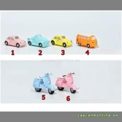Mô hình ô tô xe máy mini